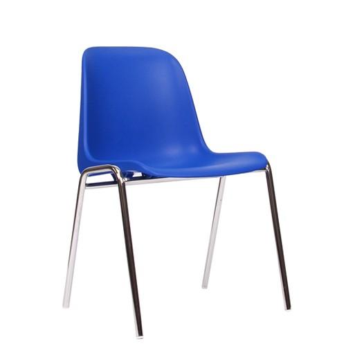 Stapelstuhl PAULA in blau