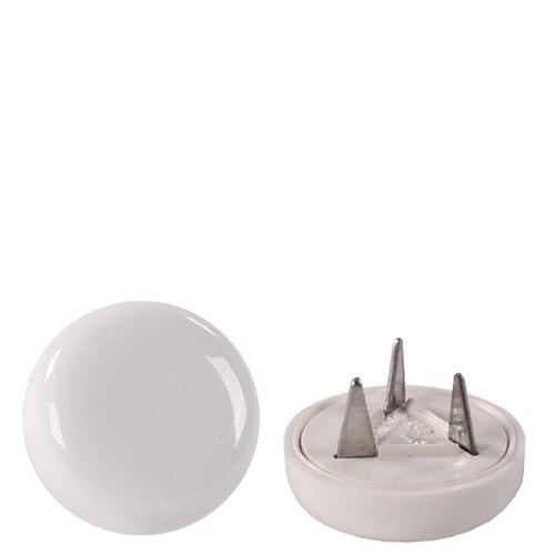 1 Satz (4 Stück) Bodengleiter aus Kunststoff weiß