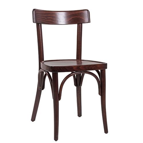 Lenktos medienos kėdė CLASSICO S61