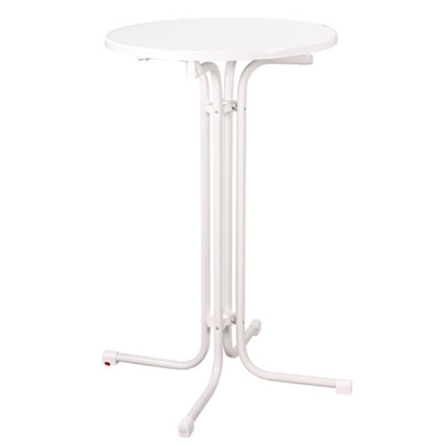 Sulankstomas baro stalas RUBEN, baltas