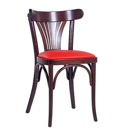 Lenktos medienos kėdė CLASSICO S45 P