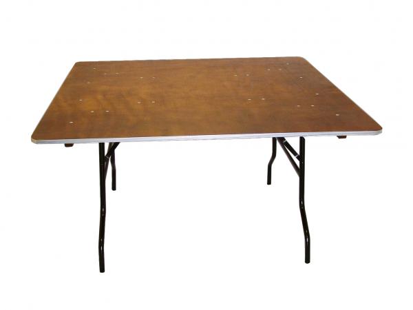 Banketinis stalas MQ, kvadratinis, sulankstomas