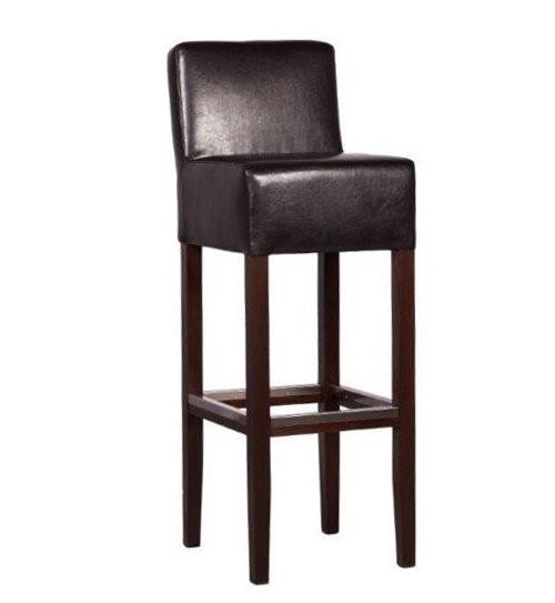 Baro kėdė RIO RL tamsiai ruda dirbtinė oda