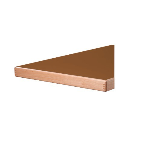 Tischplatte Laminat (HPL) - Aufkantung 65 mm stark -