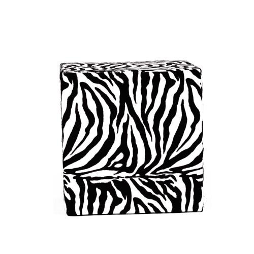 Sitzwürfel CUBO 1 SAFARI Zebra