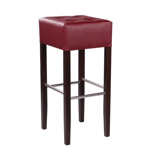 Baro kėdė MANO su sagutėmis bei nerūdijančio plieno atramomis kojoms