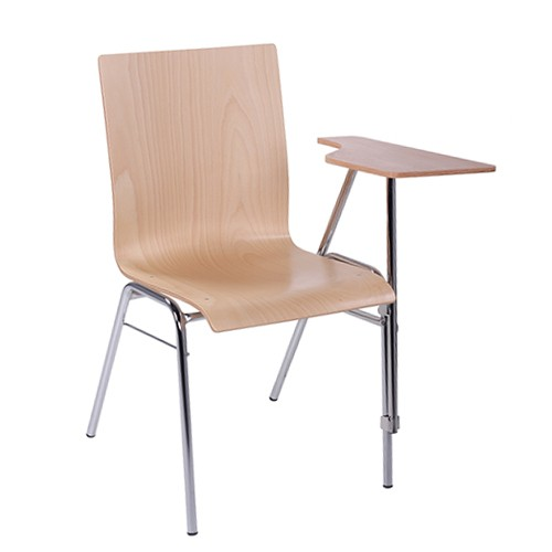 Konferencinė kėdė su rašomąja lentele kairiarankiams COMBISIT SEMINAR