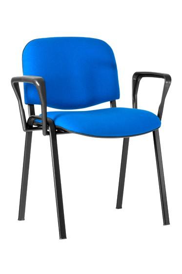 Kėdė su porankiais ISO AL, juodas rėmas
