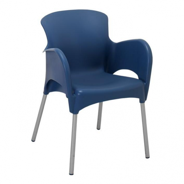 Kėdė su porankiais TIES, suneriama, daug spalvų