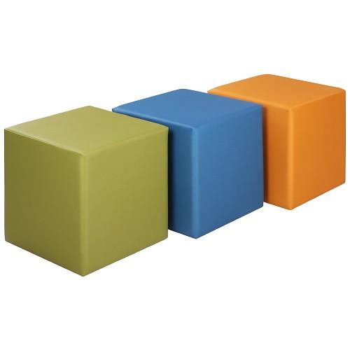 Banketė CUBO 1 (45x45 cm) - didelis spalvų pasirinkimas