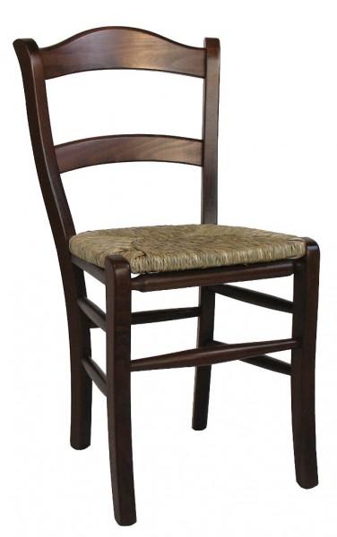 Medinė kėdė su pinta sėdynėle MARO RS