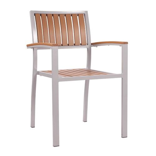 Kėdė su porankiais TIMOR natur, suneriama