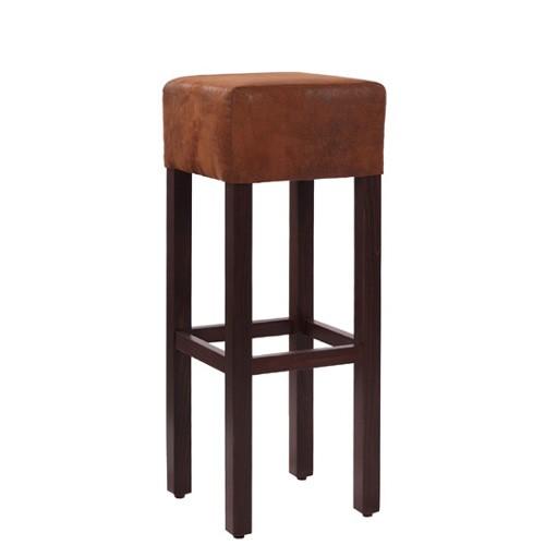 Baro kėdė FABIO Wildlederlook