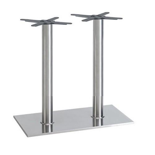 Tischgestell mit zwei Säulen für große Tischplatten