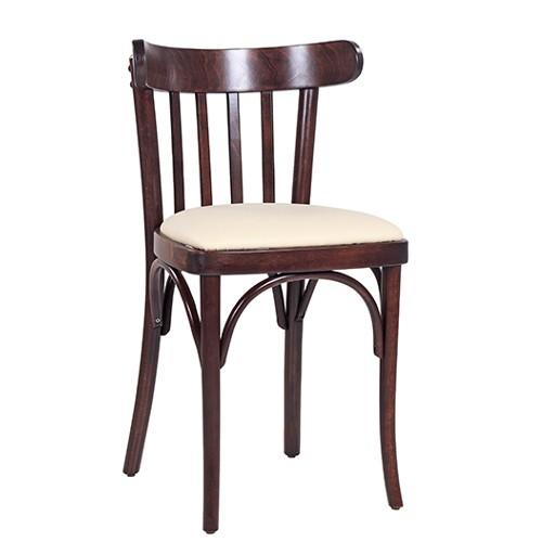 Lenktos medienos kėdė CLASSICO S21P