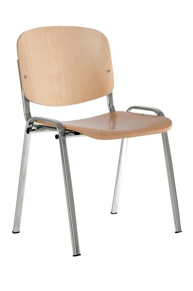 Suneriama kėdė ISO WOOD, chromuota