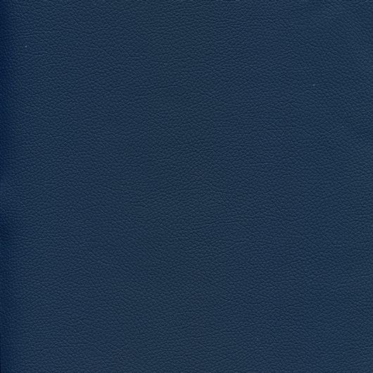 Kunstleder mit Prägung (PU) KOM22101 blau