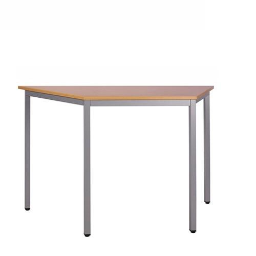 Konferenztisch TABIX Trapeztisch, Tischplatte Dekor Buche natur