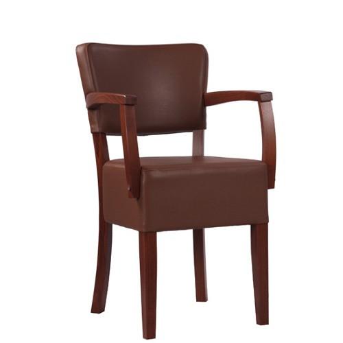 Medinė kėdė su porankiais TILO AE