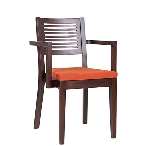 Kėdė su porankiais SANDRO AL, suneriama